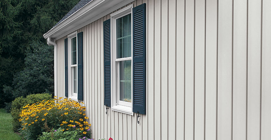 Alside Board and Batten - Vertical Siding