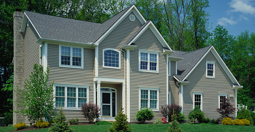 Alside charter oak siding review a premium vinyl siding for Cypress color vinyl siding