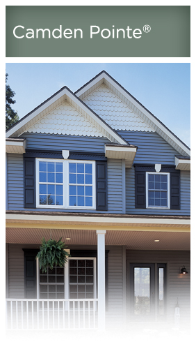 Variform camden pointe research vinyl siding for Ashton heights siding