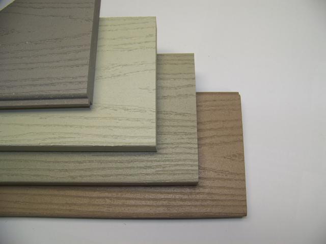 Colored trim boards