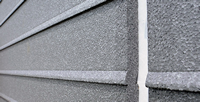 Line alignment backerboard fiber cement